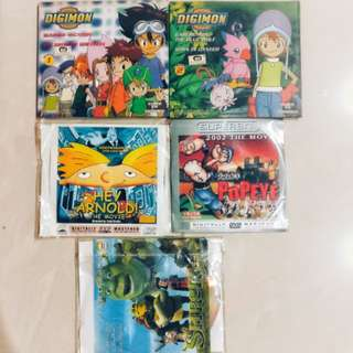 Cartoon VCD/DVD