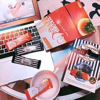 Merries Berries +  Milk Tea Package 1