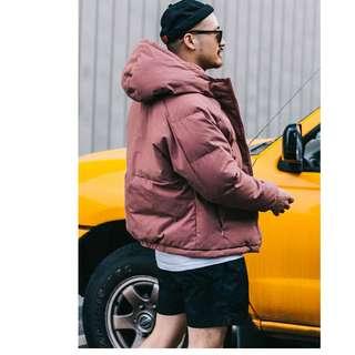 🚚 FRANK'S日本特進-2018 素色 羽絨外套 鋪棉外套 加厚 日系 棉襖 美式 復古 保暖 短版 M65 情侶 中性
