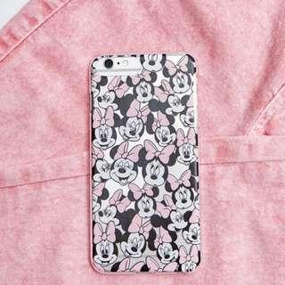Bershka minnie mouse iphone 6/6s/7 phone case
