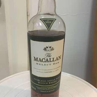 Macallan Select Oak Scotch Whisky
