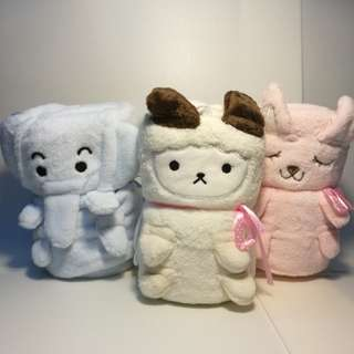 Mini cute animals blanket