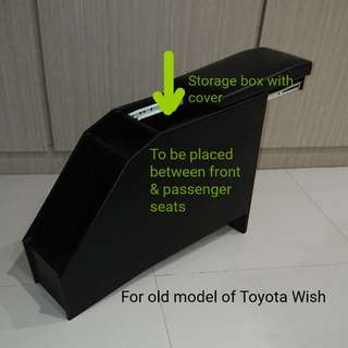 Customized Central Storage for Toyota Wish
