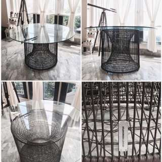 Meja Makan Industrial - Dining Table