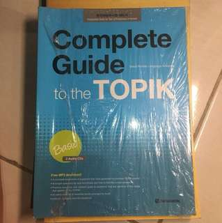 Complete Guide to the topik basic ( Seoul Korean Language Academy )