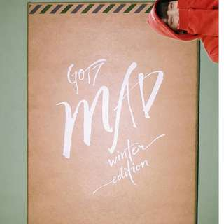 GOT7 MAD WINTER ALBUM (MERRY VERSION)