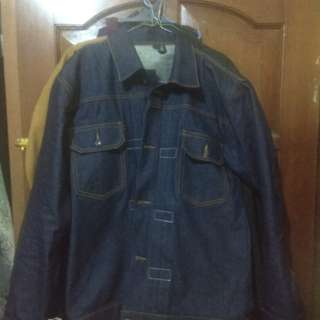 Jaket Denim Custom