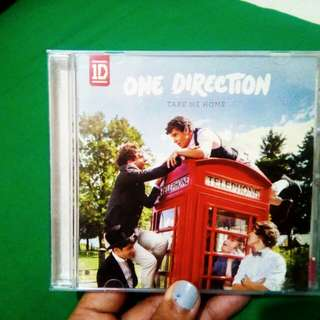 "One direction ""Take Me Home"""