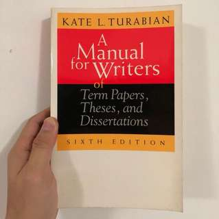 A manual for writers - Turabian