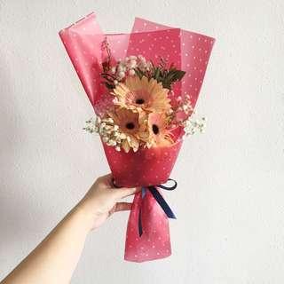 Daisy Bouquet / Gerberas with baby breath / Get well soon / Birthday Flowers Flash Sale