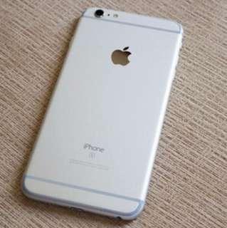Iphone6s plus 64gb銀