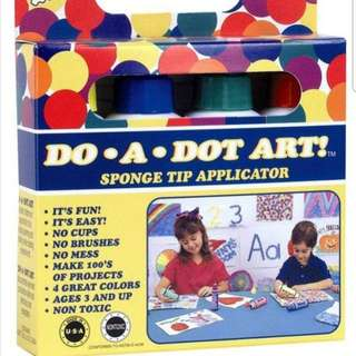Do-A-Dot Art ! Mini Rainbow Set