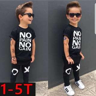 ❤INSTOCK❤ Jamie's - Boys Top and Pants Set