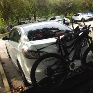 Bicycle car rack Hollywood brand