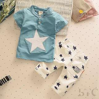 [READY STOCK] Boys Star T-shirt + Pants