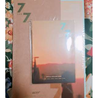 GOT7 7 FOR 7 ALBUMS (GOLDEN AND MAGIC HOUR VERSION SEALED)