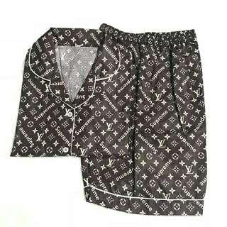 Piyama short pants LV supreme