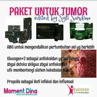 Paket produk moment utk penyembuhan tumor