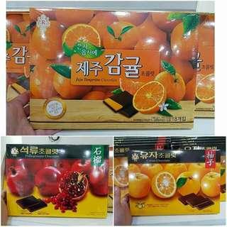 韓國-水果巧克力禮盒~🔥☆