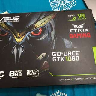 Asus Getforce gtx 1060 6gb OC edition brand new