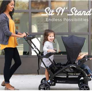 Sit 'N Stand LX Stroller From Japan
