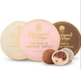 Charbonnel et Walker Chocolate Truffles