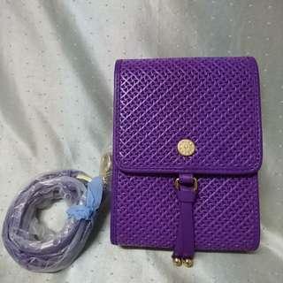 Salad Bauhaus 紫色 斜背包 手機包 小包 小袋 細袋