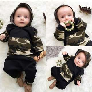 ❤INSTOCK❤ Ryan's Baby Camo Hoodies with Pants