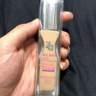 ZA True White Liquid Foundation OC30