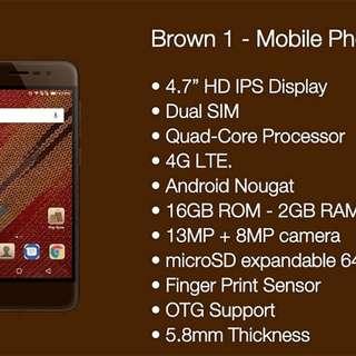 BROWN 1 Smart Phone