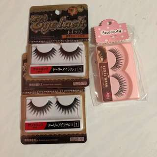 False Eyelashes bundle