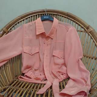 Peachy long sleeve shirt
