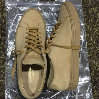Common project suede tan