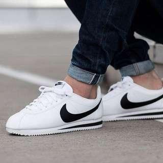 Nike Cortez Classic Leather B&W