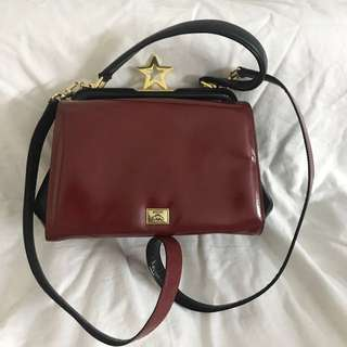 Authentic moschino Bag, good conditions as pic, size 22*14*10cm