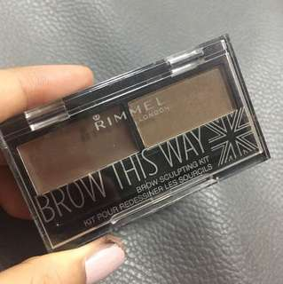 Rimmel brow this way eyebrow palette
