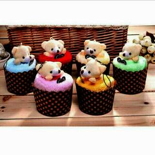 🐻Cute Bear Towel Cupcake💑