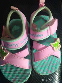 Sepatu sendal Baby Bubles