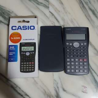 Casio Scientific Calculator fx - 82ms
