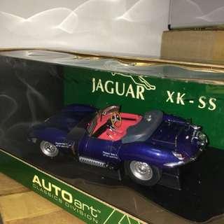 1/18 Jaguar XK-SS. AutoArt
