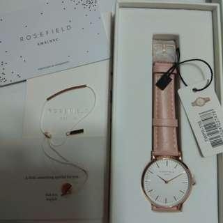 Rosefield 粉紅色手錶免費送手繩