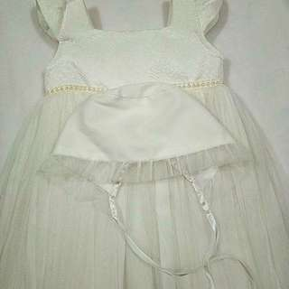 Little blessings baptismal dress 12 mos
