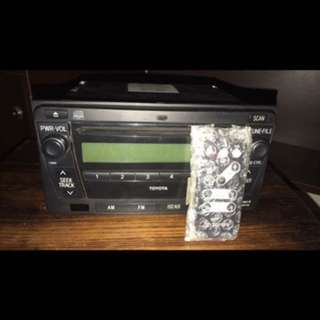 Innova 2011 Stereo with Remote