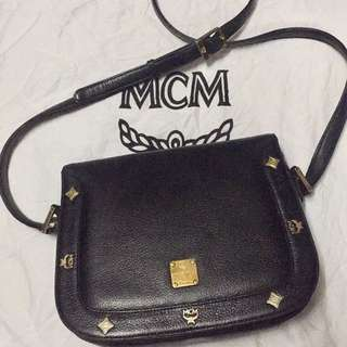 Authentic MCM sling bag