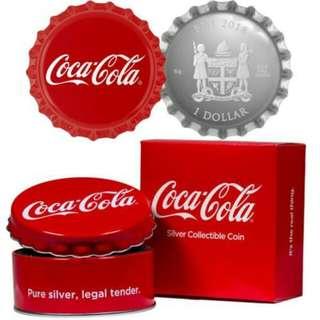 全球首套可口可樂官方銀幣