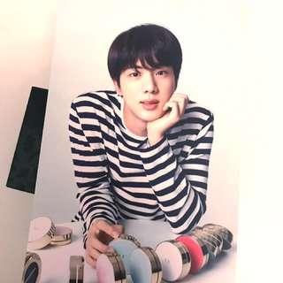 BTS限量VT postcard(Jin)