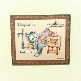 Gelatoni 畫家貓 貼紙 Hong Kong Disneyland Sticker 迪士尼樂園 Duffy Shelliemay Stella Lou
