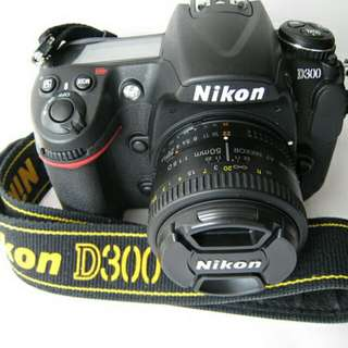 Nikon D300 with 50 f1.8 for rental