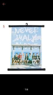 BTS Hanging Poster Wallpaper