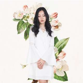 Seraph Dress in White